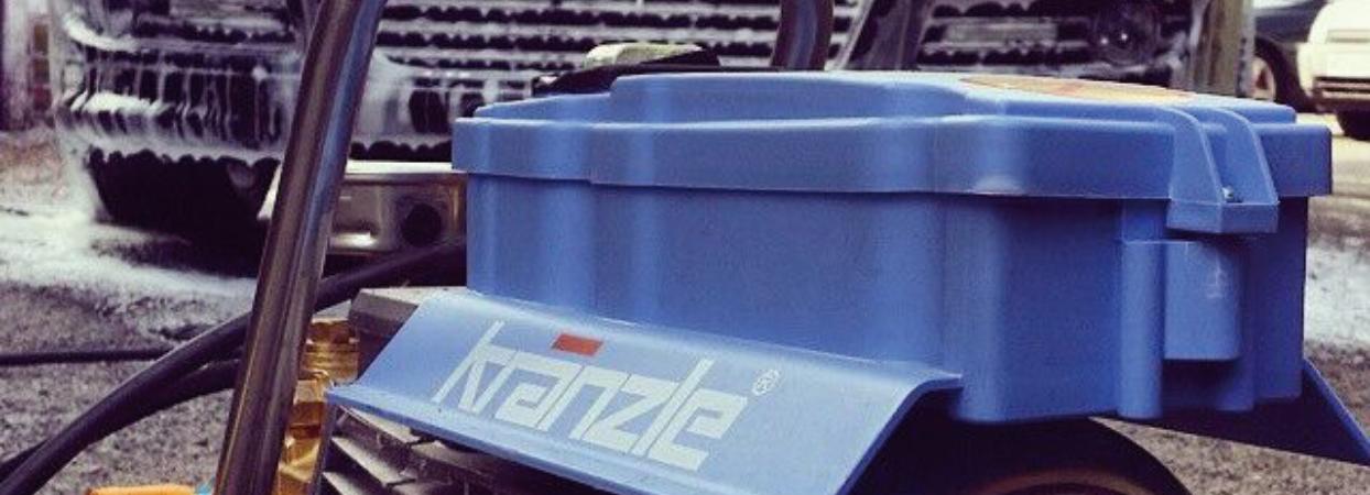 Portable Kranzle Cold Pressure Washer K7/122