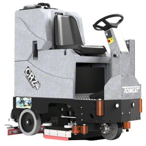 TomCat CRZ-HD Ride-On Scrubber Dryer (Battery) Image