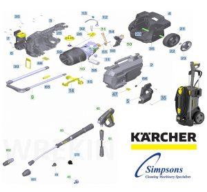 Karcher Parts Book - Diagram Image