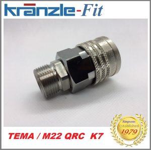 Kranzle-Fit Quick Release Coupling TEMA Female / M22M Image